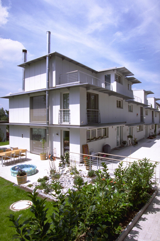 neubau 4 reiheneinfamilienh user chreienweg zumikon nzag entwickelt plant und baut. Black Bedroom Furniture Sets. Home Design Ideas