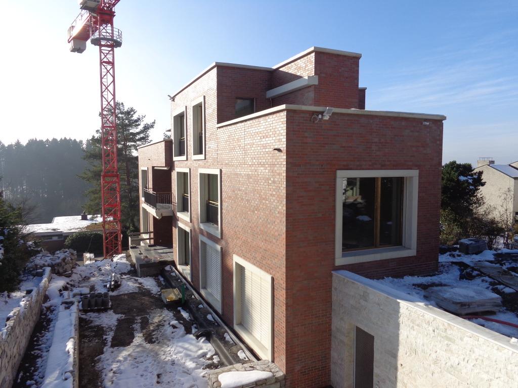 Neubau mehrfamilienhaus sennhofstrasse zollikon nzag for Mehrfamilienhaus neubau